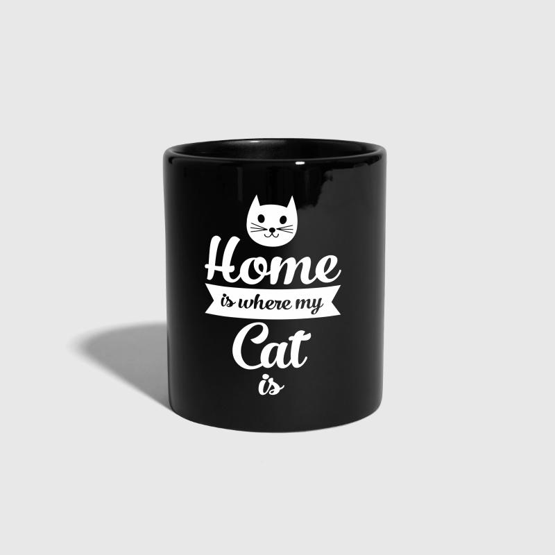 Home Is Where My Cat Is - Full Colour Mug