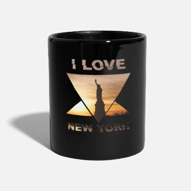 I Love New York New Yorkin NYC Love I Love City - Yksivärinen muki