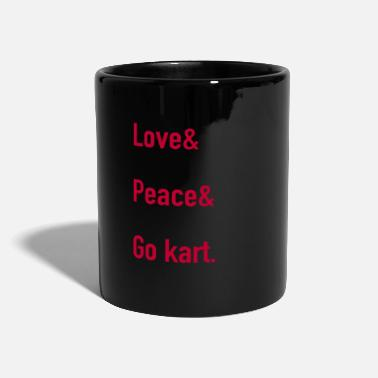 Course Automobile Go Kart Karting Course Go Kards cadeau GoKart de course - Mug