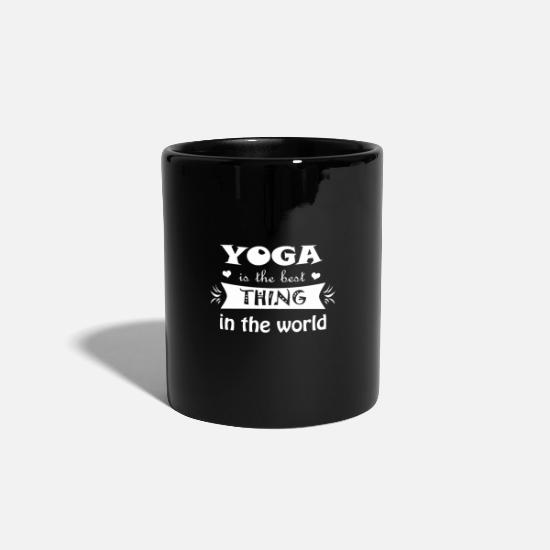 Breathe Mugs & Drinkware - Yoga gift idea - Mug black