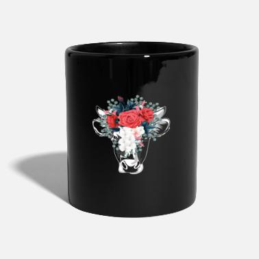 Animal Cow flowers animals - Mug