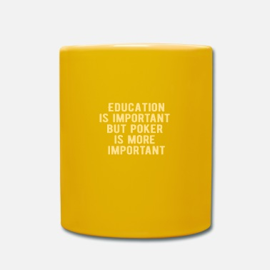 Vegas POKER: Education is important - Mug