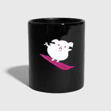 Pistensau / Ski hooligan Pig (b, 2c) - Full Colour Mug