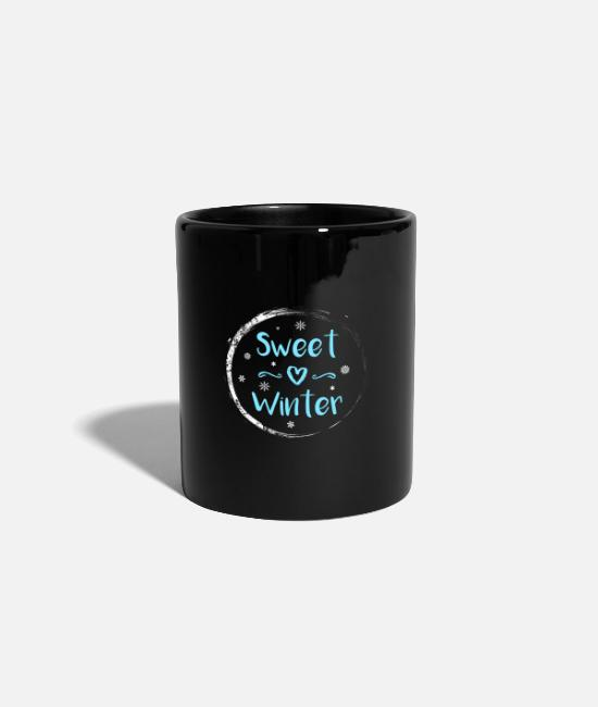 December Mugs & Drinkware - winter - Mug black