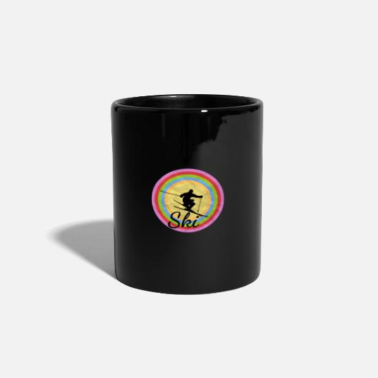 Birthday Mugs & Drinkware - Ski winter sport gift winter - Mug black