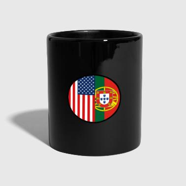 Strip Portugal USA Flag Nation Gift - Ensfarvet krus