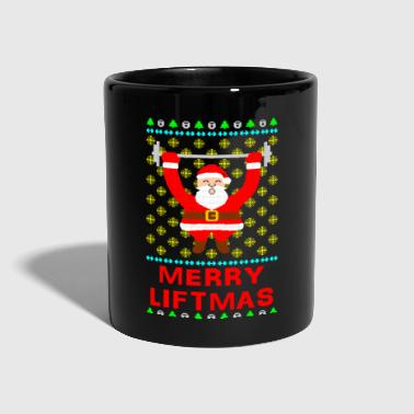 Merry Liftmas Ugly Christmas Sweater - Full Colour Mug