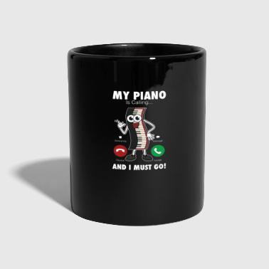 Piano de piano - Taza de un color
