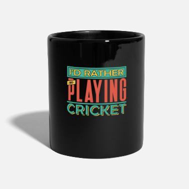Cricket Cricket cricketer cricket club gift - Full Colour Mug