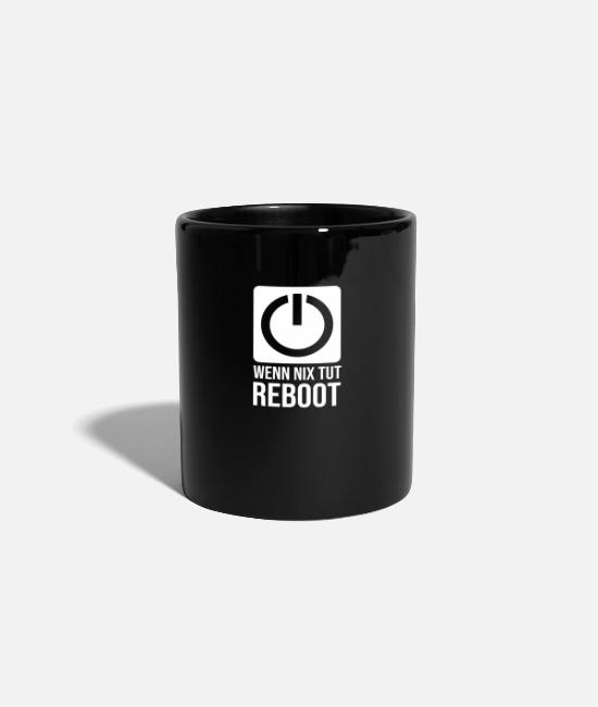 Program (what You Do) Mugs & Drinkware - reboot - Mug black