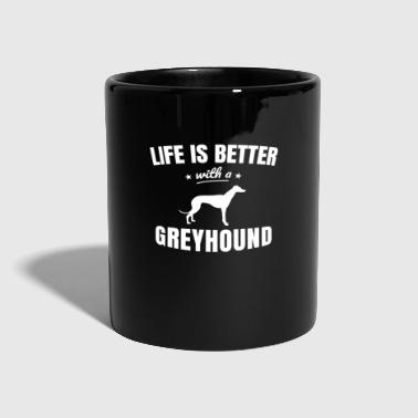 Greyhound - Full Colour Mug