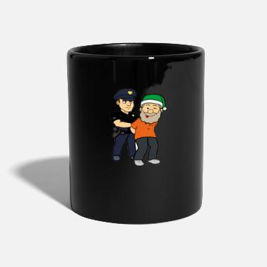 Arrested Arrested Santa Thief Policeman - Full Colour Mug