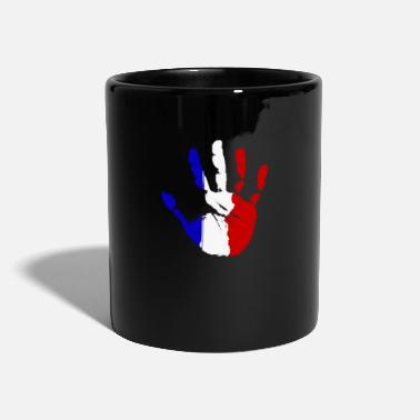 Flag France Frenchman French Gift Flag - Mug