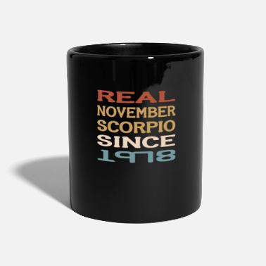 Vintage 40th Birthday November Scorpio 1978 Gift - Mug