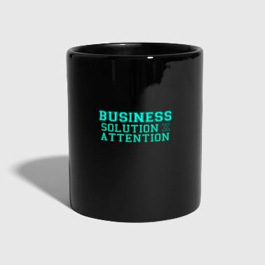 Entrepreneur Business = Solution x Attention - Mug uni