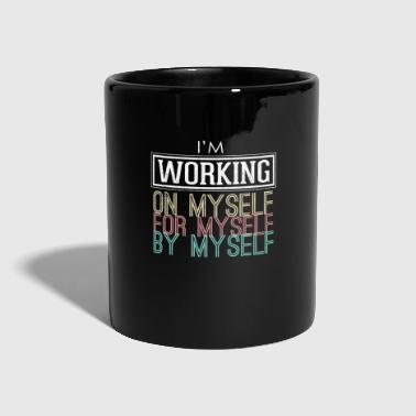 Motivation Geschenk Inspiration Optimismus Fitness - Tasse einfarbig