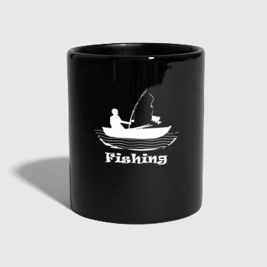 Boat fishing boat - Full Colour Mug