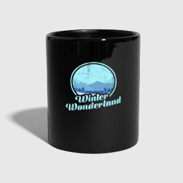 Yeti Winter Wonderland - Tasse einfarbig