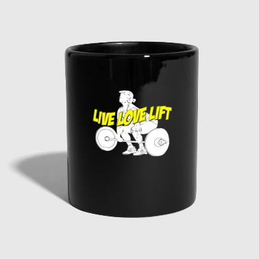 Elevator Live Love Lift - Full Colour Mug