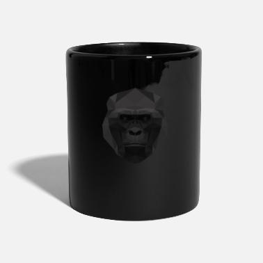 Low Poly Gorilla - Mug uni