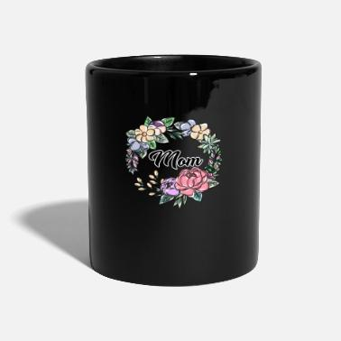 Best Mom Mutter Familie Mama - Tasse einfarbig