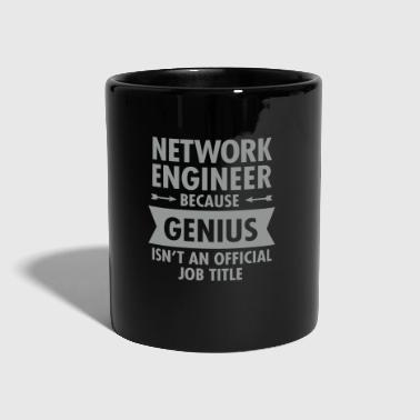 Network Engineer - Genius - Tasse einfarbig
