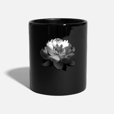 Beautiful Black Lotus Flower - Mug