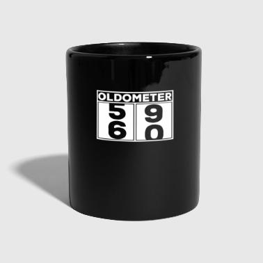 Celebrate Oldometer 60s birthday celebration shirt gift - Full Colour Mug