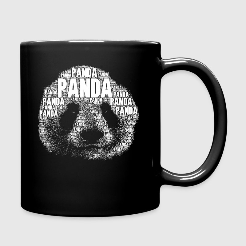 panda als wort tasse spreadshirt. Black Bedroom Furniture Sets. Home Design Ideas