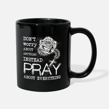 Rosary Rosary Christian Prayer Christianity - Full Colour Mug