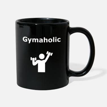 Muscoli Fitness Gym Workout Gymaholic Gift - Tazza monocolore