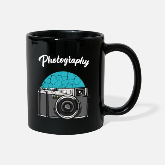 Photographer Mugs & Drinkware - taking photos - Mug black