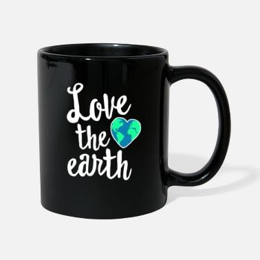 Earth Day Love The Earth - Cute Earth Day Shirt - Recycle - Full Colour Mug