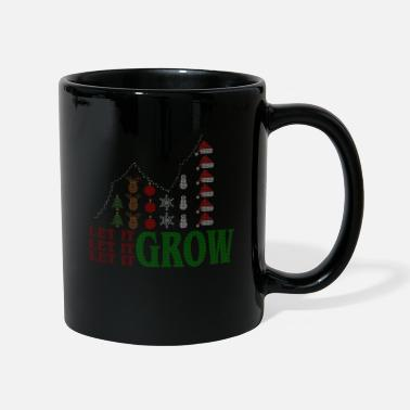 Let it Grow, Aktienkurs, Ugly Shirt Design Frugal - Tasse