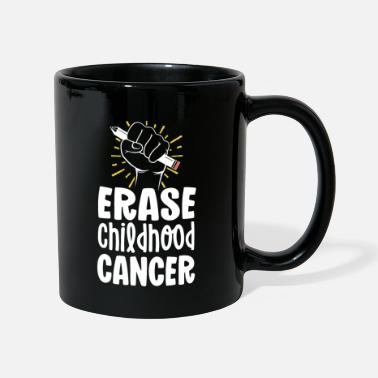 Awareness Childhood Cancer Awareness Shirts Erase Childhood - Mug