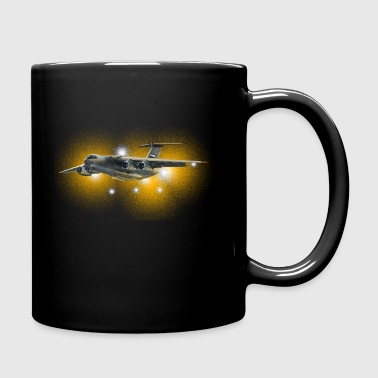 transport aircraft - Taza de un color