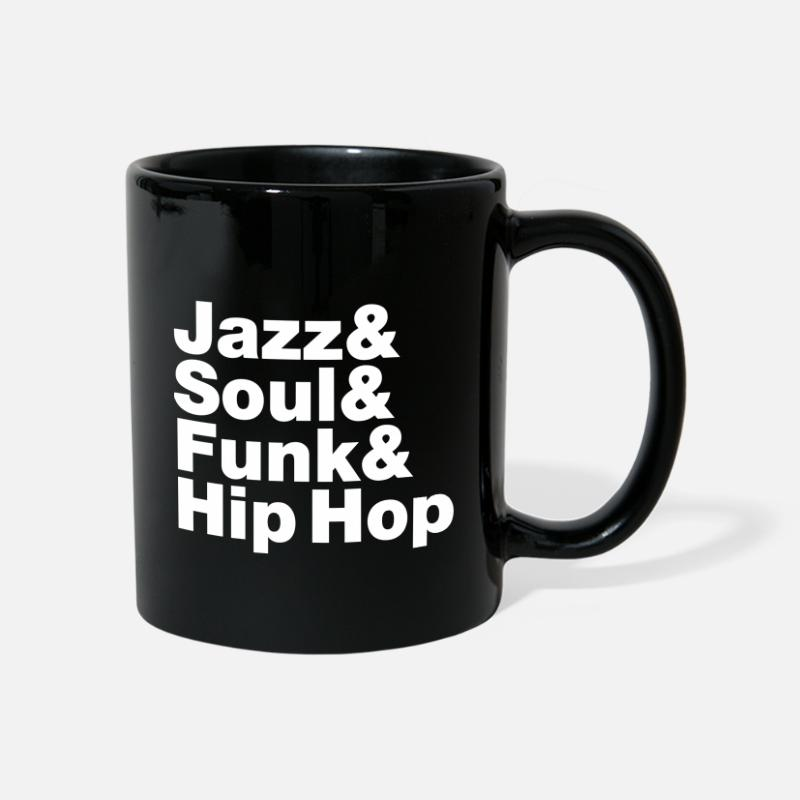 Jazz Mugs & Drinkware - Jazz & Soul & Funk & Hip Hop - Mug black