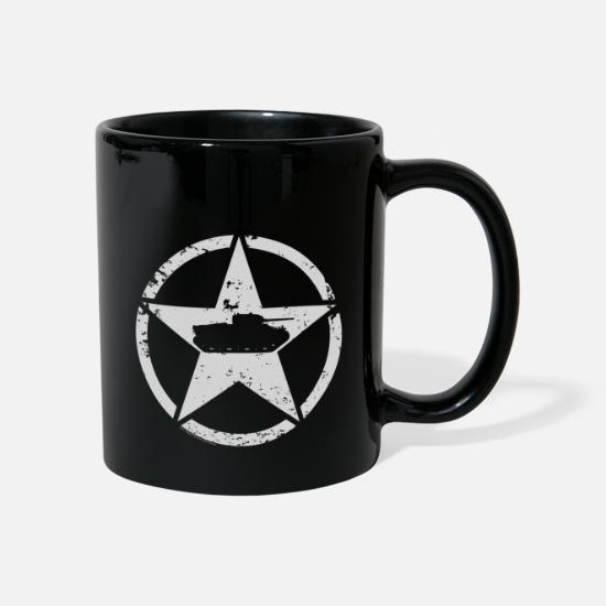 World Of Tanks Mukit ja tarvikkeet - World of Tanks USA Tank Mug - Muki musta