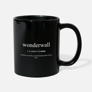 Liam Gallagher Wonderwall (protective wall) Black Edition - Mug