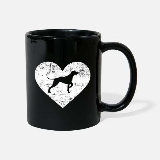 Love Mugs & Drinkware - German Shorthaired Hair - Mug black