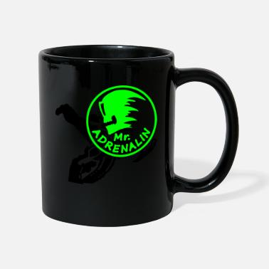 Stunts snowmobile stunt - Mug