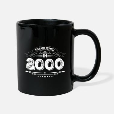Established Established in 2000 - Mug