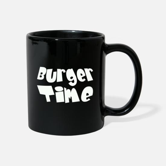 Easter Mugs & Drinkware - Burger Time - white - Mug black