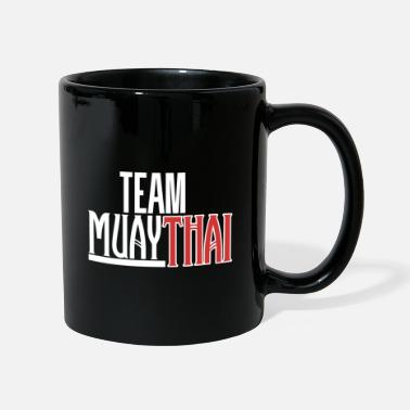 Boxing Gloves Team Muay Thai Kickboxing Kickboxing - Mug