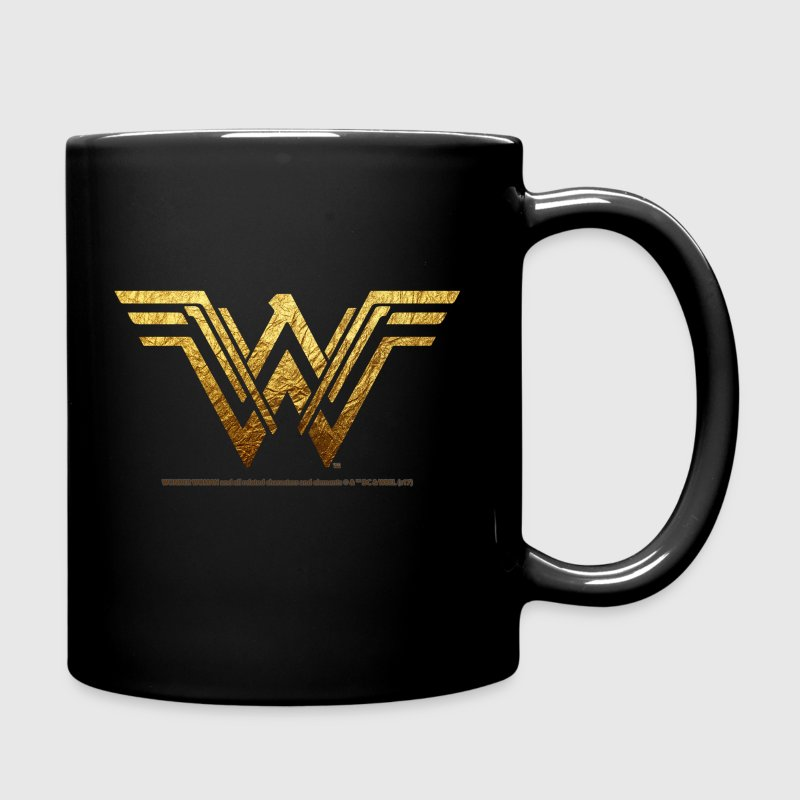 Bros Wonder Woman Golden Logo - Enfärgad mugg