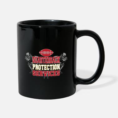 Protection Service American Football Quarterback Protection Services - Mug