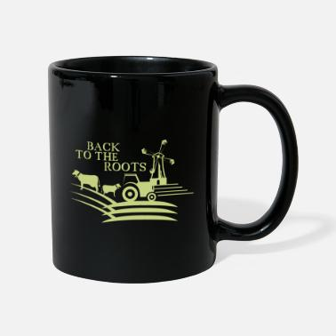 Root Crop back to the roots agriculture farm - Mug