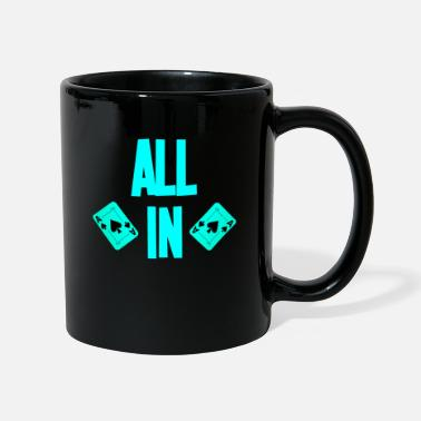 Texas Carte ALL ALL Poker Poker Texas Holdem - Mug uni