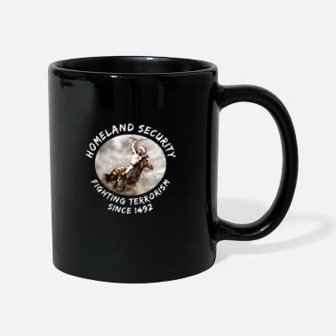 Mohawk Native Americans | Indian on horse | sarcasm - Mug