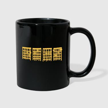 Deaf by Amplifiers - Full Colour Mug